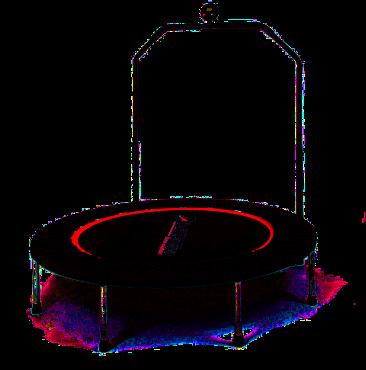 Trampolinky v DK Fontána