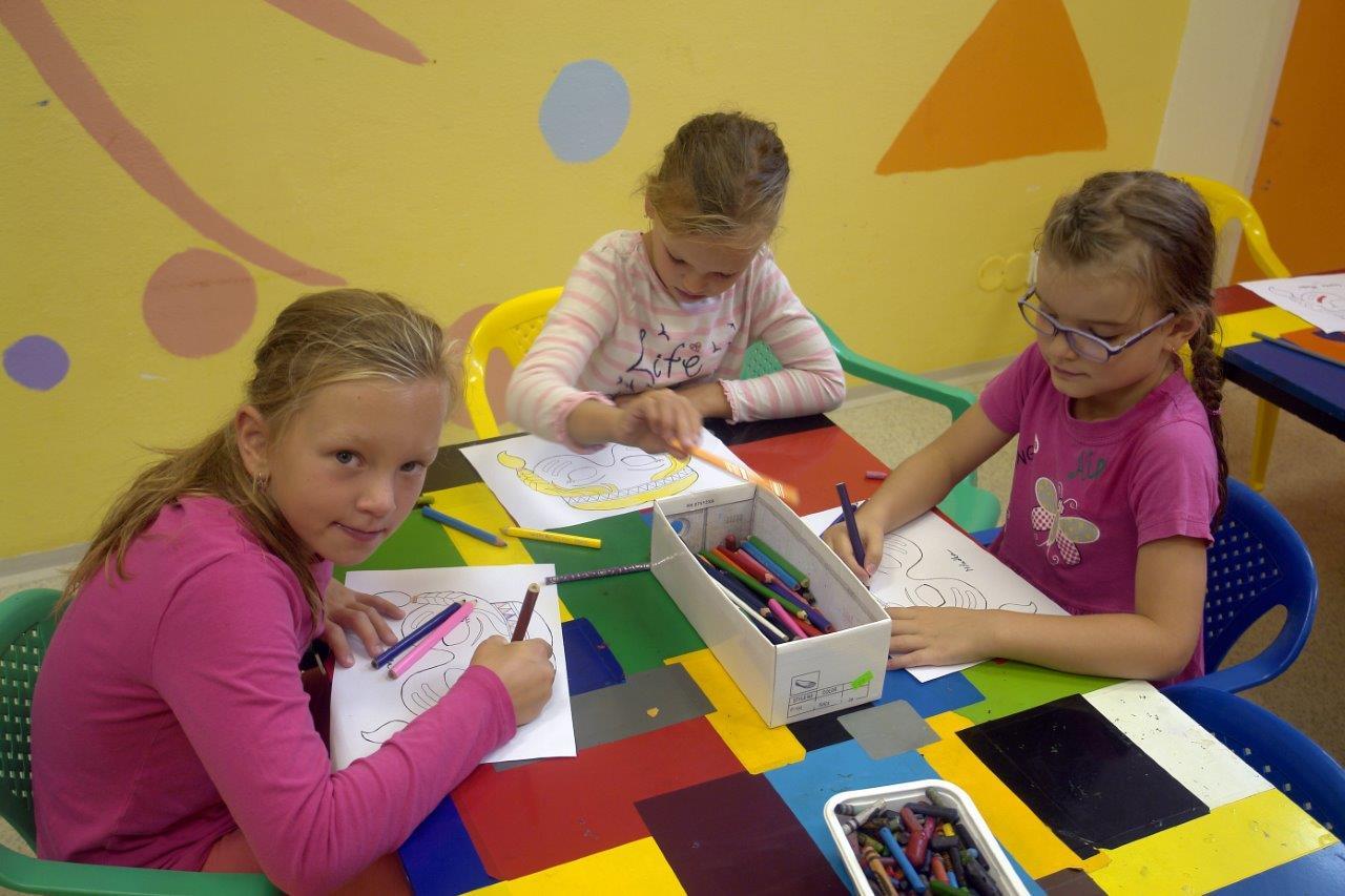 Kreslení a malování pro děti