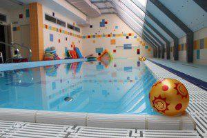 Swimming pool at DK Fontána