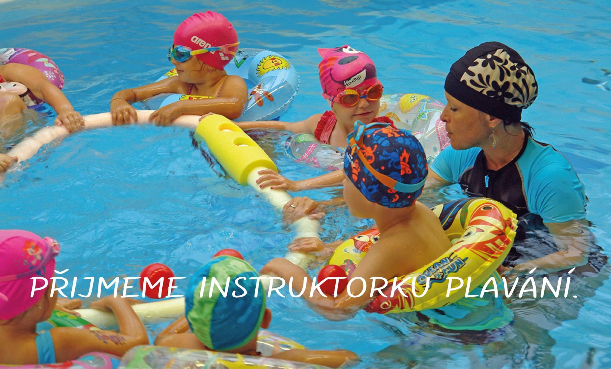 Přijmeme instruktorku plavání